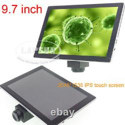 9.7 Ips Touch Screen Android Pad Avec Caméra Microscope Numérique C-mount 5.0mp