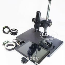 9 LCD 5x-360x 1080p 60fps C-mount Digital Microscope Camera F Iphone Pcb Repair