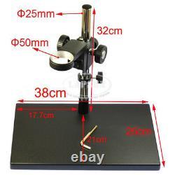 9 LCD Digital Microscope Industria Intégré W 180x 1080p 60fps C-mount Camera