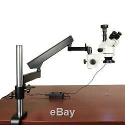 9mp Appareil Photo Numérique 3.5x-90x Zoom Articulã + Post Stéréo Trino- Microscope