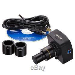 Amscope 10mp Usb3.0 Temps Réel Microscope Vidéo En Direct Usb Appareil Photo Numérique