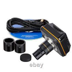 Amscope 14mp Caméra De Microscope Numérique Haute Vitesse Usb 3.0