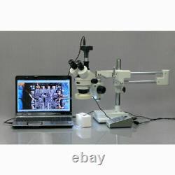 Amscope 14mp Usb3.0 Caméra Numérique Microscope Vidéo En Direct + Kit D'étalonnage