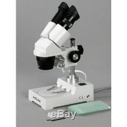 Amscope 20x-80x Binocular Microscope Stéréo Usb 2.0 Pilier-support De Caméra Numérique