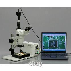 Amscope 3.35x-90x Microscope D'inspection Industrielle + Appareil Photo Numérique 3mp