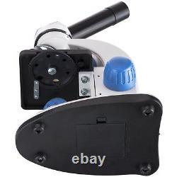 Amscope 40x-1000x 2-led Portable Compound Microscope Kit Pour Enfants W Livre, Caméra