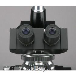 Amscope 40x-2000x Docteur Microscope Clinique Vétérinaire + 3mp Appareil Photo Numérique