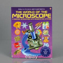 Amscope 40x-2500x Avancée Microscope Student + Appareil Photo Numérique + Livre + 50 Specimens