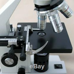 Amscope 40x-800x Monoculaire Étudiant Composé Microscope + Imager Appareil Photo Numérique