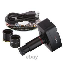 Amscope 5mp Digital Usb Microscope Camera 30fps Vidéo / Stills Pour Windows & Mac