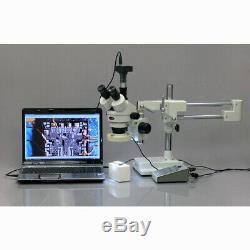 Amscope 5mp Usb Microscope Appareil Photo Numérique + Logiciel De Mesure