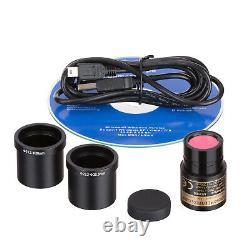 Amscope 5mp Usb Still + Live Video Microscope Imager Digital Camera Calibration