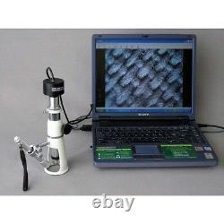 Amscope H250-m 20x & 50x Shop Measuring Microscope + 1.3mp Appareil Photo Numérique