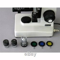 Amscope Me300tza-5m 40x-1600x Epi + 5mp Microscope Metallurgical Appareil Photo Numérique