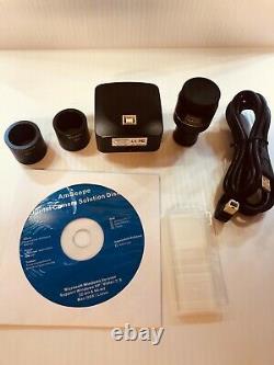 Amscope Mu1000 10mp Microscope Caméra Numérique + Logiciel