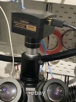 Amscope Mu1803 18mp Usb3.0 Caméra Numérique En Temps Réel Microscope Vidéo En Direct