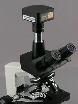 Amscope Wf100 Wi-fi De Microscope Appareil Photo Numérique + Logiciel