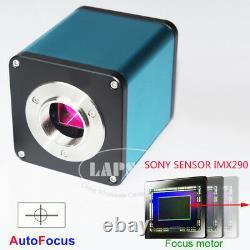 Auto Focus Focal 1080p 60fps Hdmi Caméra De Microscope Industriel Sony Imx290 C202u