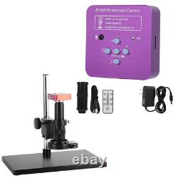 Caméra De Microscope Numérique Numérique Industriel 51 Millions De Pixels Cmos 120x