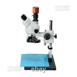 Caméra Numérique Usb Hdmi 24mp Microscope Trinoculaire Stéréo 7x-90x