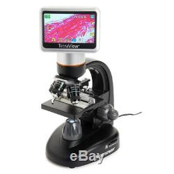 Celestron 44347 LCD Microscope Numérique Avec Appareil Photo Numérique Intégré