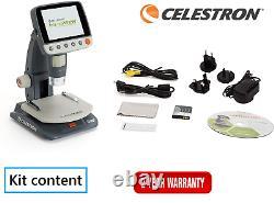 Celestron Infiniview Microscope Multiplug Numérique LCD 44361 (stock Uk)