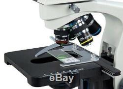 Composé Led Trinocular Siedentopf Microscope 40x-2000x Avec 5mp Appareil Photo Numérique