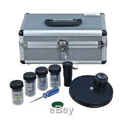 Contraste De Phase Et Brightfield Lab Microscope Composé Clinique + 5mp Appareil Photo Numérique