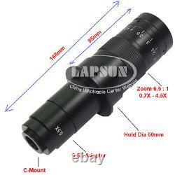 Dual Arm 180x Hdmi 1080p Hd Digital Lab Caméra De Microscope Industriel C-mount A30