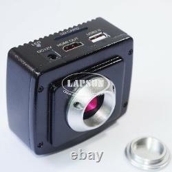 Enregistreur Sd Appareil Photo Numérique 1080p Hdmi Usb Hd Lab Industrial C-mount Microscope