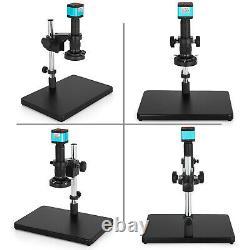 Hdmi Usb Industry Digital Stereo Microscope Camera Tf Video Recoder Safe