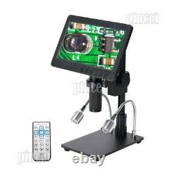 Hy-2070 Caméra Numérique De Microscope 26mp Full Hd 1080p 60fps 7 LCD Avec Objectif 150x