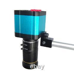 Large Champ 14mp 1080p Hdmi Usb Numérique Microscope Industriel Caméra Zoom Objectif Au
