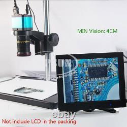 Large Champ 14mp Hdmi Appareil Photo Numérique De L'industrie De Microscope Usb + Support De Table Stéréo
