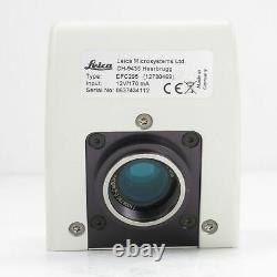 Leica Dfc295 Caméra De Microscope Numérique Firewire 3mp Avec Logiciel Las