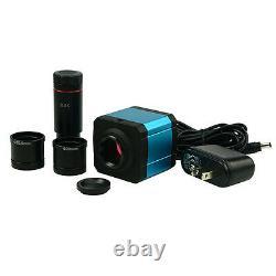 Lentille Usb 14mp Hdmi Microscope Numérique CCD Caméra Oculaire Électronique Withadapter