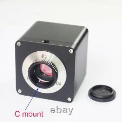 Ligne De Mesure Et D'échelle 8mp 4k /1080p Hdmi Hd Caméra Numérique De Microscope Industriel