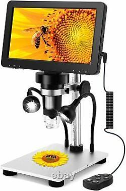 Lvylov Camera Digital Microscope Usb 7.0 Pouces Moniteur LCD Observation D'inspection