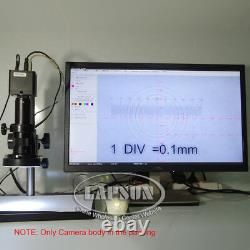 Mesure Et Échelle 12mp 1080p 60fps Fhd Hdmi Caméra Numérique De Microscope Industriel