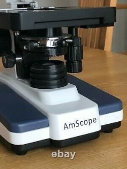 Microscope À Composés Binoculaires Amscope Avec Appareil Photo Numérique Amscope 10 Mo