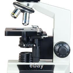 Microscope Biologique Composé Jumellulaire De Contraste De Phase Avec Appareil Photo Numérique 2mp