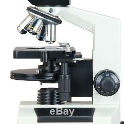 Microscope Contraste De Phase Composé De Laboratoire En Direct Blood + 9mp Appareil Photo Numérique