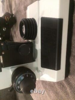 Microscope Darkfield Omax 40x-2500x + Appareil Photo Numérique 10mp