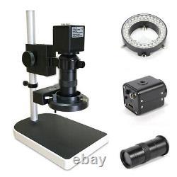 Microscope Industriel Appareil Photo Numérique 16 Mégapixels 1080p Hdmi Avec 180x Zoom Lens, 110-240