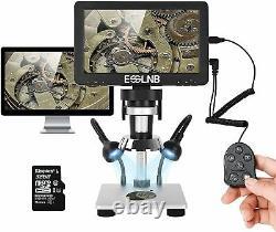 Microscope Numérique 1200x Microscope LCD 7 Pouces Avec Carte 32g 1080p Caméra Vidéo