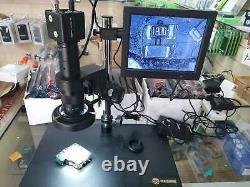 Microscope Numérique Avec 8 Moniteurs Led Hd Appareil Photo Couleur 10x-90x Zoom -vendeur Au Royaume-uni