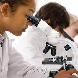 Microscope Numérique Binoculaire Microscope Biologique 1600x Avec Diapositives De Caméra Usb