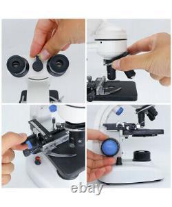 Microscope Numérique Binoculaire Microscope Biologique Binoculaire 2000x Avec Lumière Led