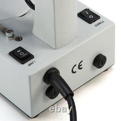 Microscope Swift Stéréo 20x/40x/80x Détachant Double Lumière Avec Caméra Numérique 2mp