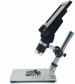 Microscope Vidéo LCD De 7 Pouces Pour L'inspection Pcb De Soudure De Réparation De Téléphone Et De Montre